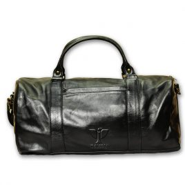 RAVEN GENUINE LEATHER DUFFLE BAG: RDB-02