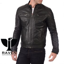 RR:10 QUILTED MOTOR CYCLE RIDER JACKET