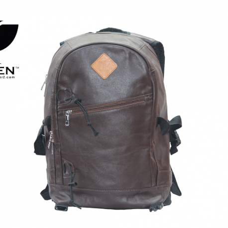 RAVEN-Leather-backpack-from-Dhaka-bangladesh-front