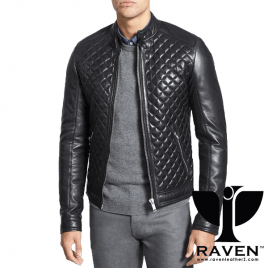 RR-04 QUILTED DIAMOND PARTY JACKET