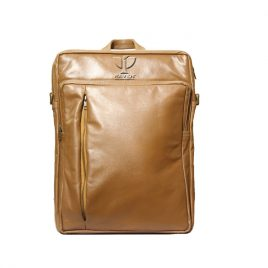 RAVEN GENUINE LEATHER BACKPACK RUB: 14