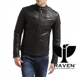 BR:08 SLIM FIT QUILTED RACING JACKET