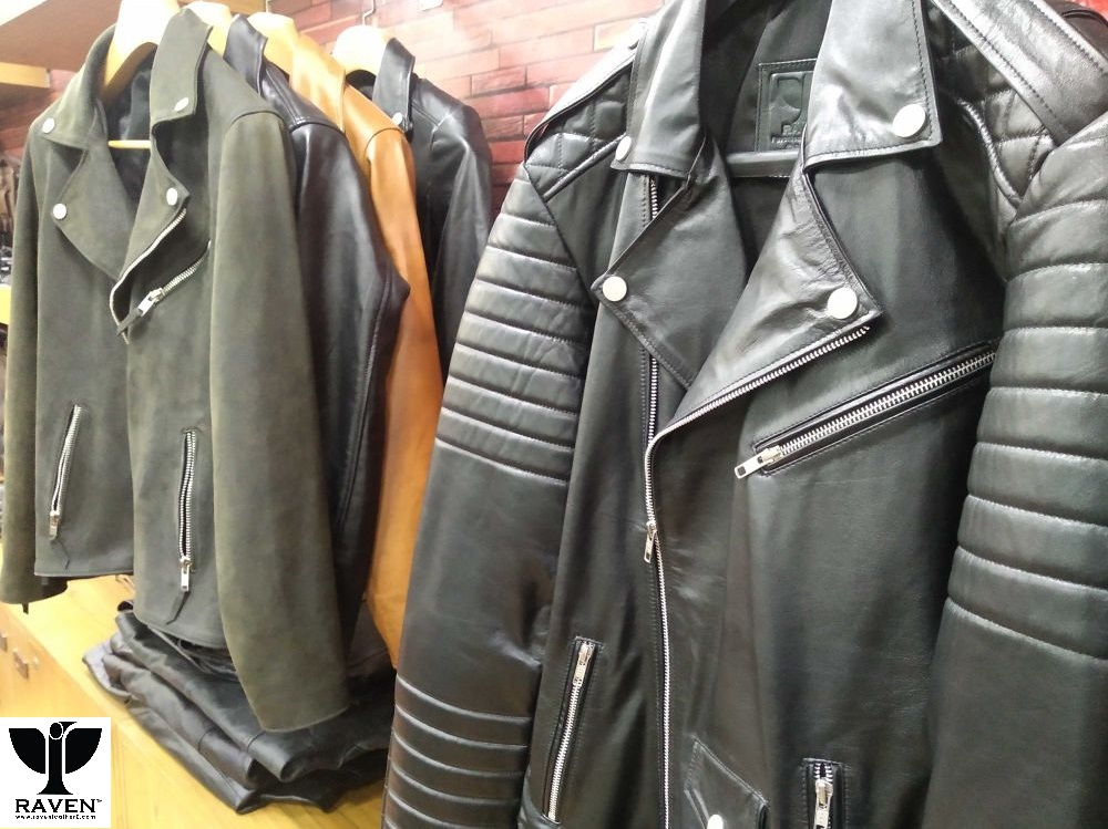 Genuine Leather Jacket Made By Bangladeshi Leather Company RAVEN
