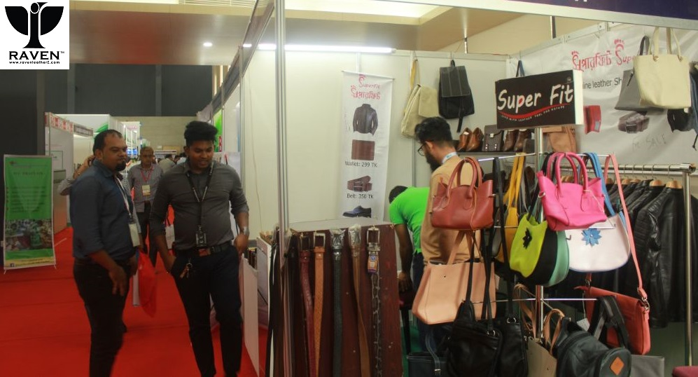Leather Goods Display for Foreign Buyers in Bangladesh