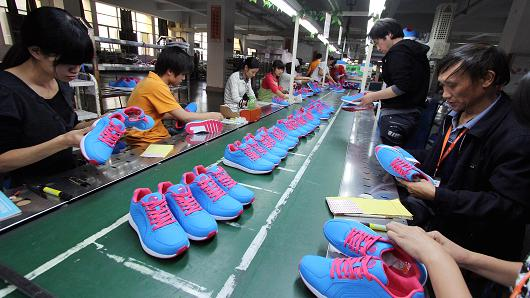 Sports Shoes are made by ETCL BD