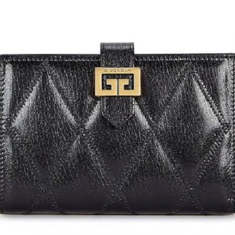 Black Diamond Quilted Ladies Purse