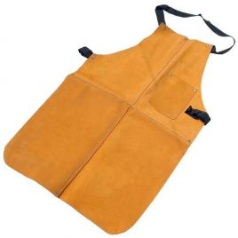 Brown Color Suede Leather Apron