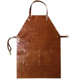 Brown Vintage Finished industrial Leather Apron