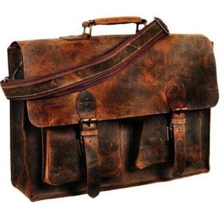 Burning Shade Duel Contrast Vintage Official Messenger Bag