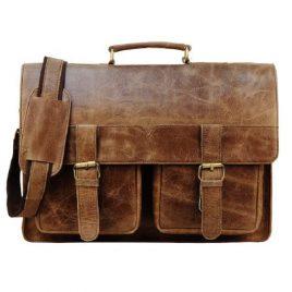 Classic Retro Style Official Messenger Bag