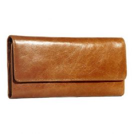 Dark Master Color Tri Fold Long Wallet