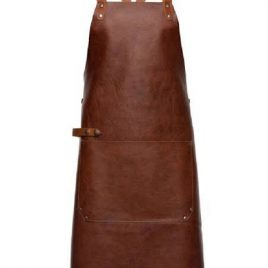Dark Vintage Brown Color Working Apron