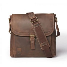 Deep Brown Vintage Shade Satchels