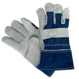 Due Contrast Industrial Working Gloves