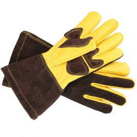 Duel Contrast Long Kitchen Gloves