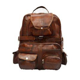Duel Tone Reddish Vintage Color Backpack