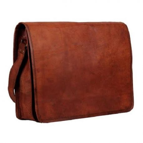 Flap Style Reddish Brown Basic Messenger Bag