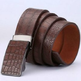 Full Ambushed Luxurious Leather Belt