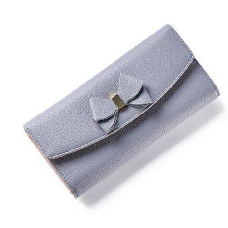 Light Violet Color Envelop Style Ladies Purse