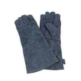 Navy Blue Color Long Kitchen Gloves