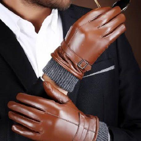 Reddish Dark Master Color Full Gloves