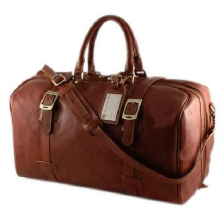 Reddish Tan Color Business Class Medium Duffel Bag