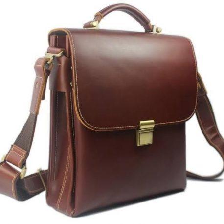 Reddish Tan Color Official Side Bag