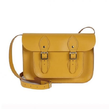 Sobar Yellow Color Ladies Official Satchels