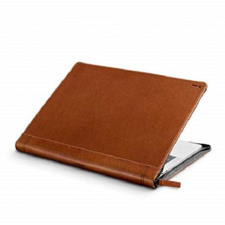 Tan Color Plain Leather Dairy Cover