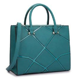 Turquoise Blue Color Ladies Flight Bag