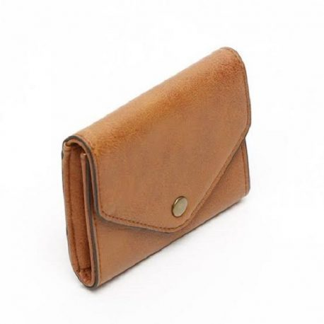 Vintage Brown Envelop Style Ladies Purse