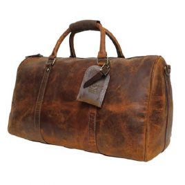 Vintage Old School Large Duffel Bag