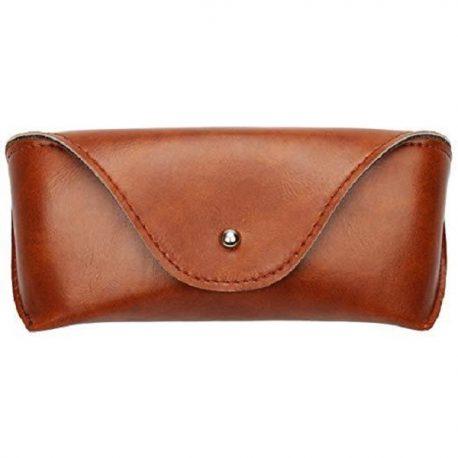 Vintage Reddish Brown Envelop Shape Sun Glass Cover