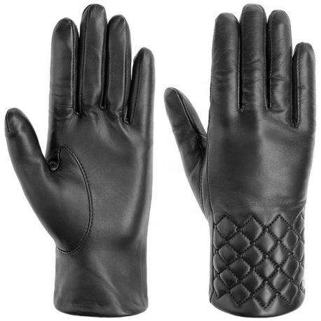 Wrist Quilt Full Leather Hand Gloves